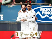 This is Zidane's order for Isco after scoring against Osasuna