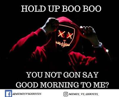 Good morning to me