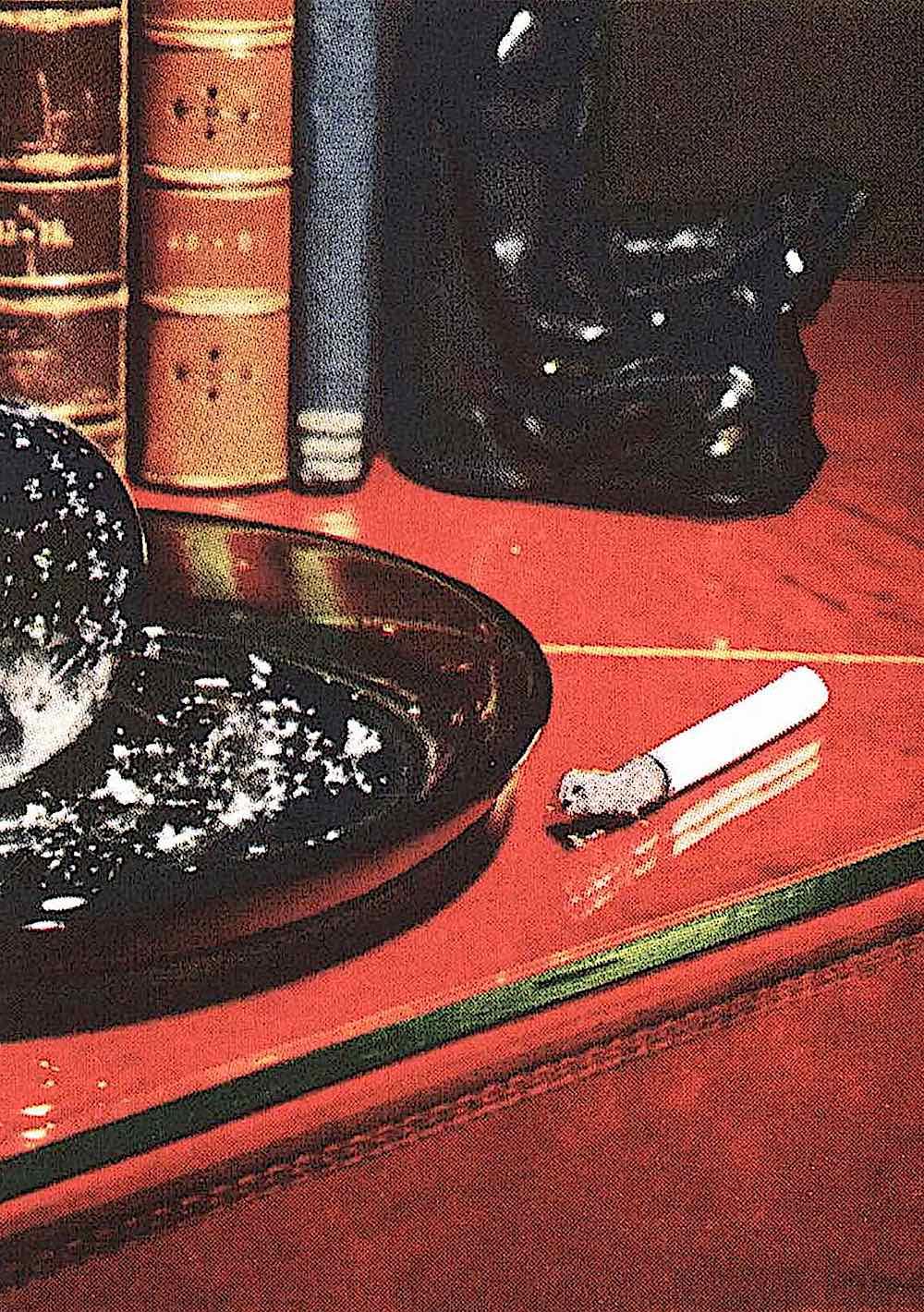 1950 alcohol drugs tobacco, unattended cigarette