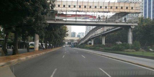 Sidang Putusan MK, Jalan Jakarta Tak Macet Pas Jam Pulang Kantor