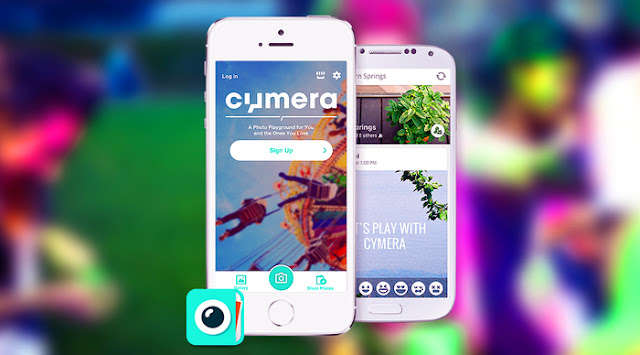 Aplikasi Cymera Android
