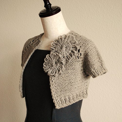 Anthropologie-Inspired Capelet