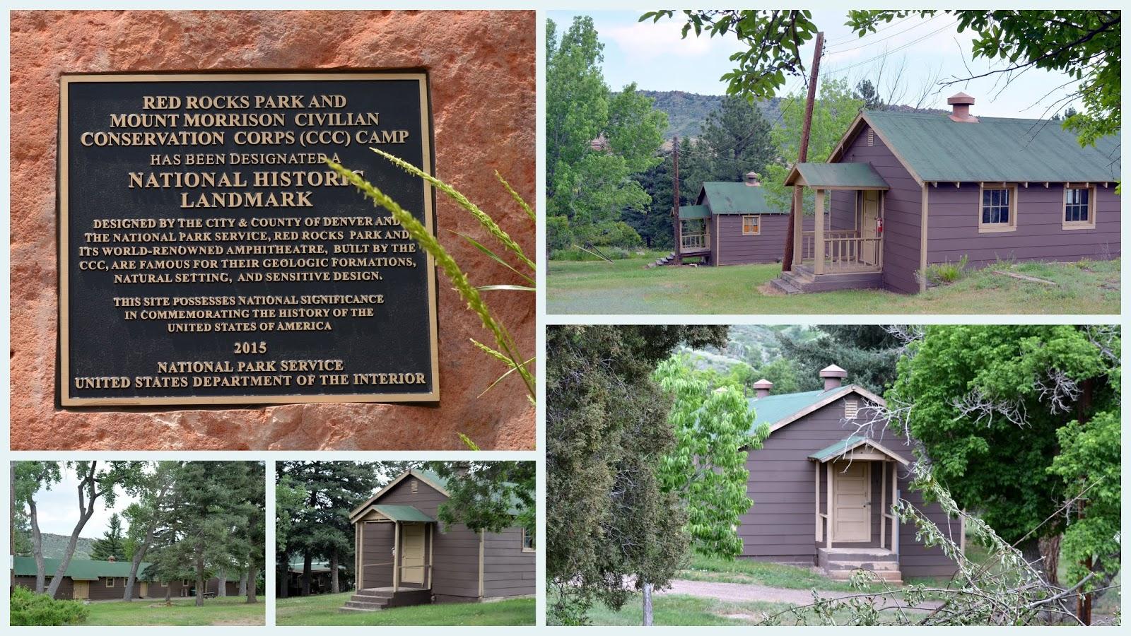 Mille Fiori Favoriti The Civilian Conservation Corps Camp At Morrison Colorado