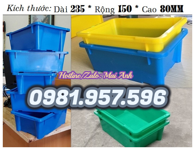 Hộp nhựa A4, thùng nhựa đặc A4, thùng nhựa công nghiệp