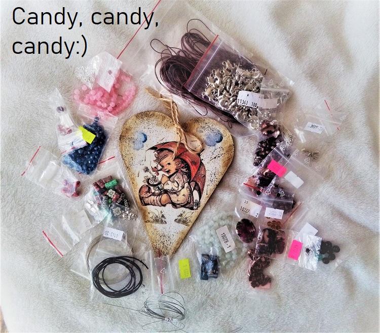 Candy, rozdanie, zapraszam:)