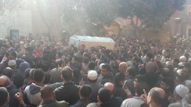 جنازة المستشار المنتحر