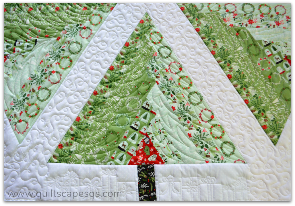 To Me The Toughest Part Of Whole Project Is Making Myself Cut A Slice And Center Hole So Tree Skirt Can Fit Around Whew