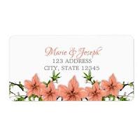 Etiqueta para Dirección Floral01