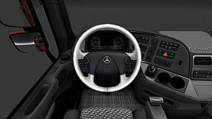 Pearl Interior skin for Mercedes Actros 2009
