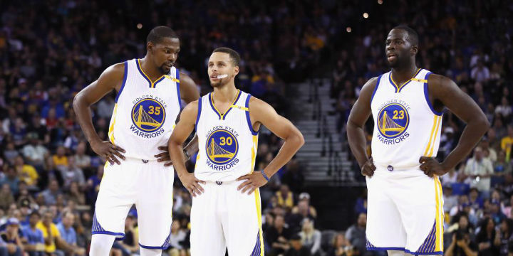 Kevin Durant - Stephen Curry - Draymond Green - Golden State Warriors