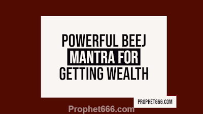 Powerful Root Mantra for Getting Wealth