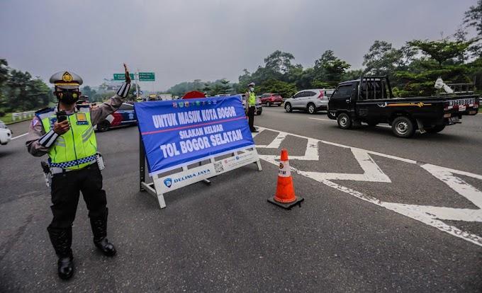 Dua Hari Gage Kota Bogor, Petugas Putar Balik Ribuan Kendaraan