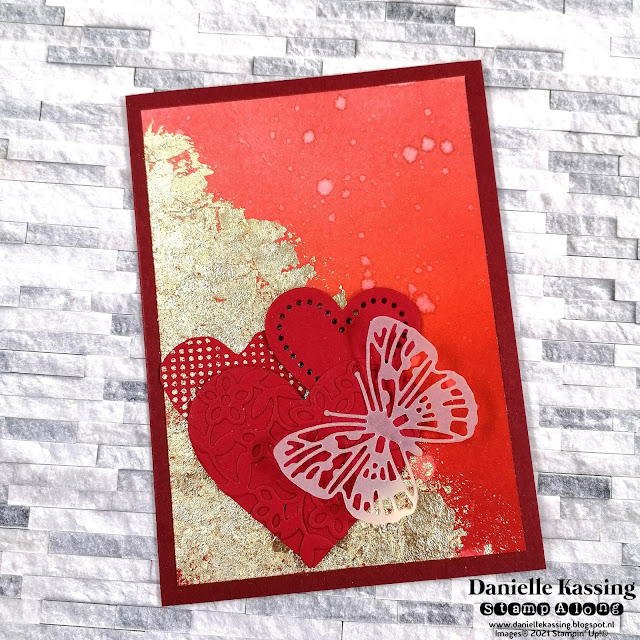Stampin' Up! Many Hearts dies