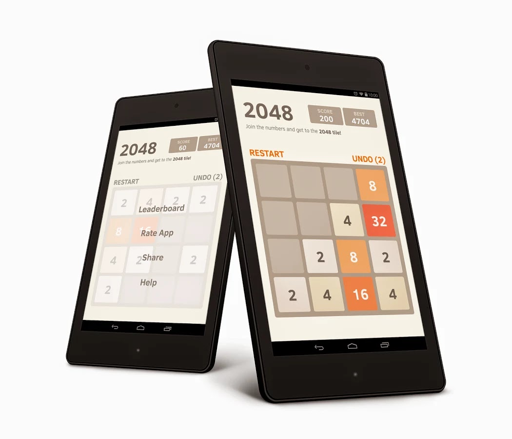 2048 Best Android Puzzle Game Apk