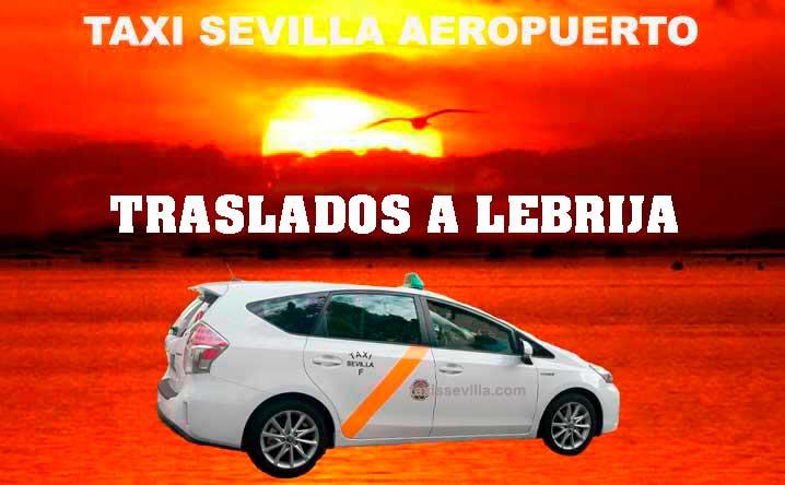 ¿Cuánto cuesta un taxi de Sevilla a Lebrija?