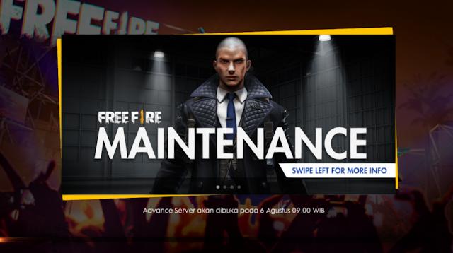 Jam Pembukaan Advance Server Free Fire Season 2