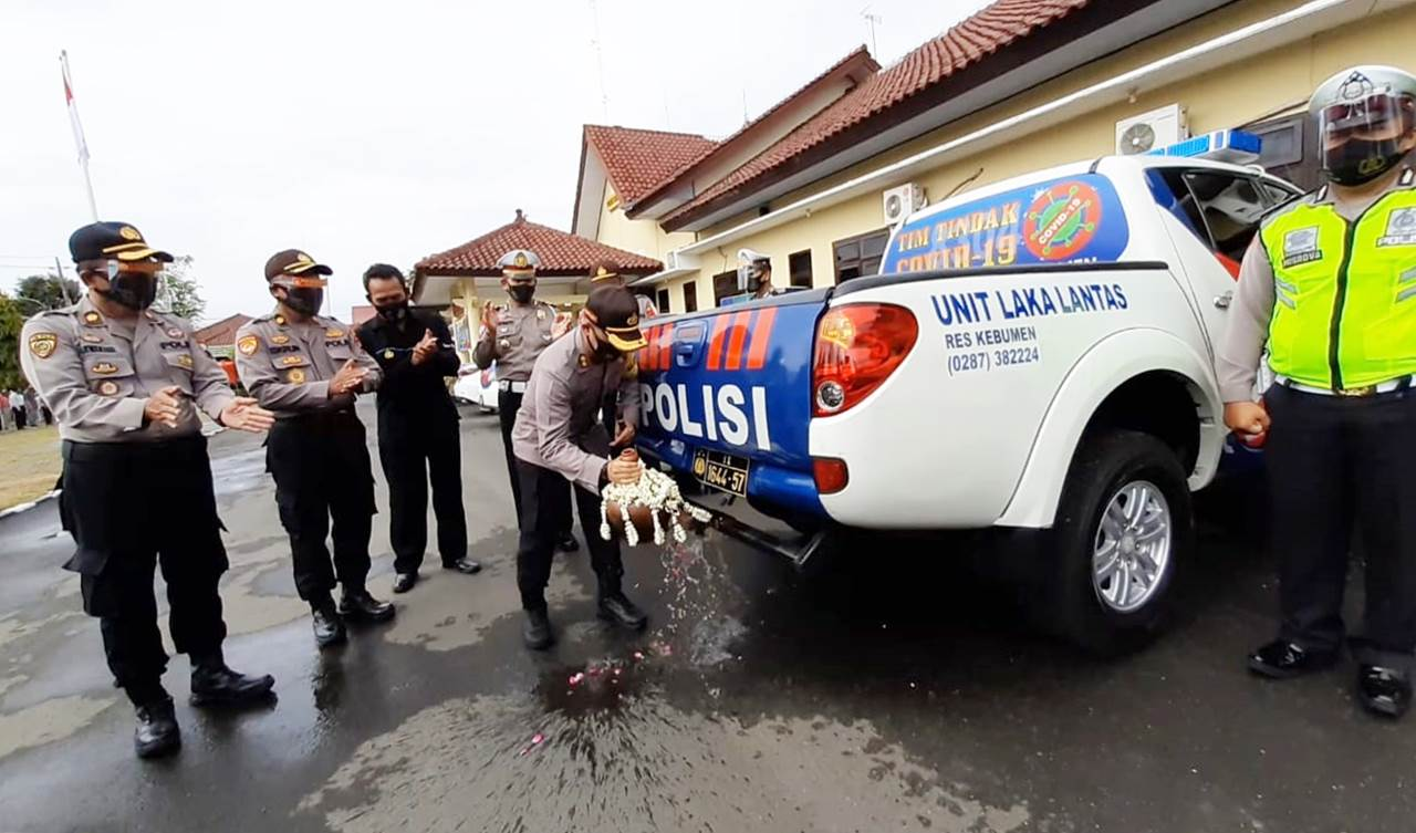 457 Randis Polisi Dialihfungsikan jadi Kendaraan Tim Tindak Covid-19