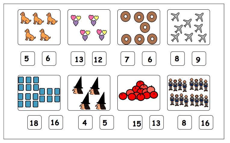 Autism Tank: Work Task Tuesday- Counting