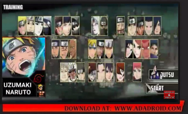 Download Naruto Senki the Last Mod Shinobi War