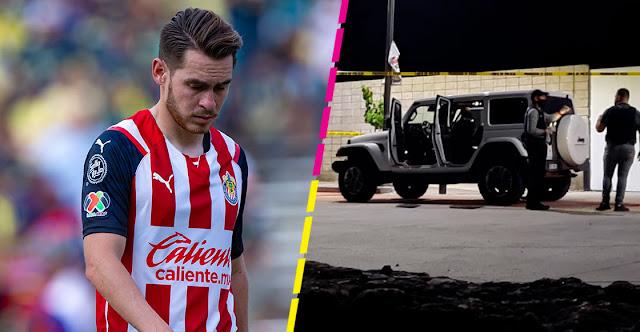 Levantan a futbolista de chivas Jesús Angulo con todo y su Jeep de Lujo; Minutos mas tarde fue liberado con todo al saber quien era