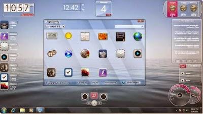 برنامج لإضافة أدوات ذكية شفافة إلى سطح المكتب