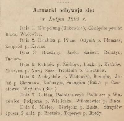 Jarmarki 1894