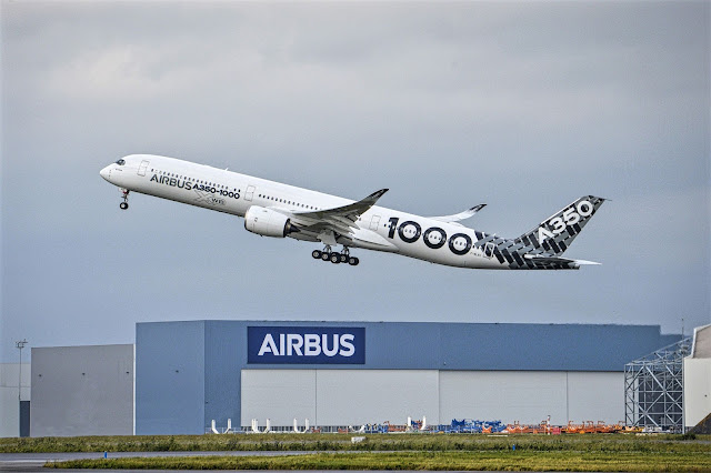 Airbus A350-1000 Long Haul Flight