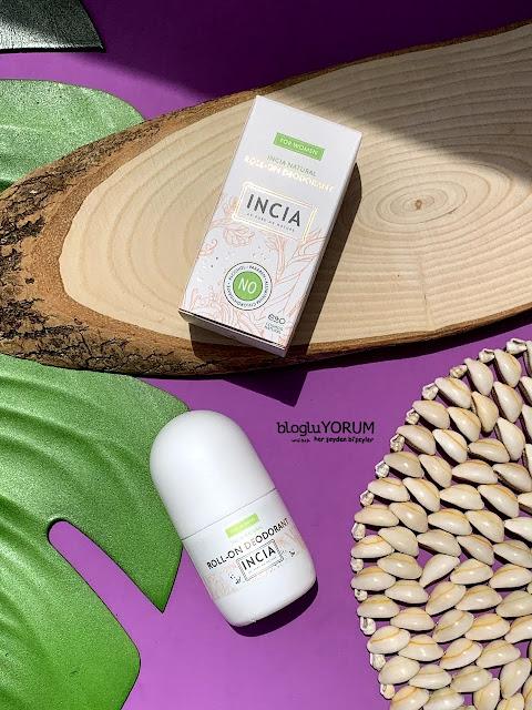 INCIA Kadınlar İçin Doğal Roll-On Deodorant kullananlar