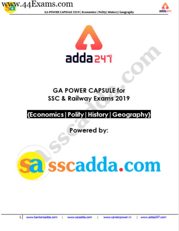 Adda247-General-Awareness-Capsule-2019-For-SSC-and-Railway-Exam-PDF-Book