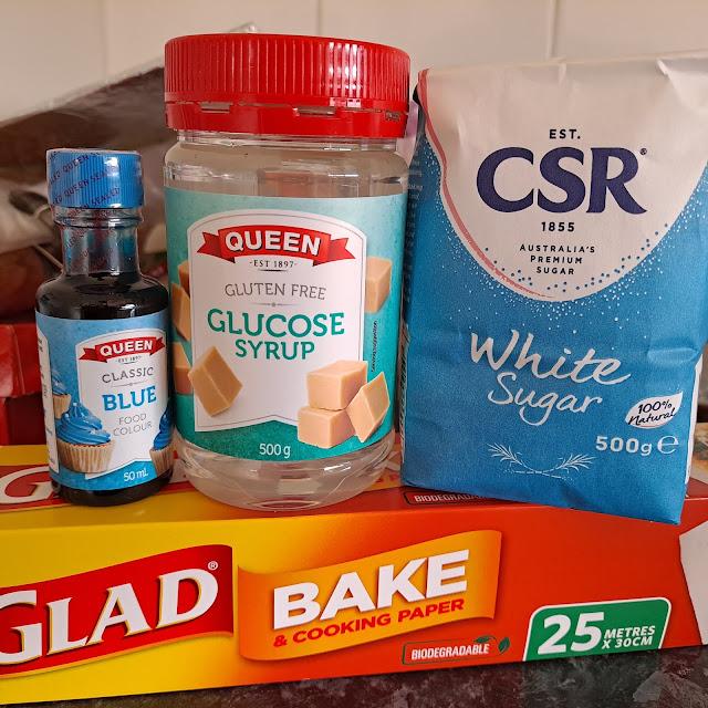 DIY sugar candy ingredients