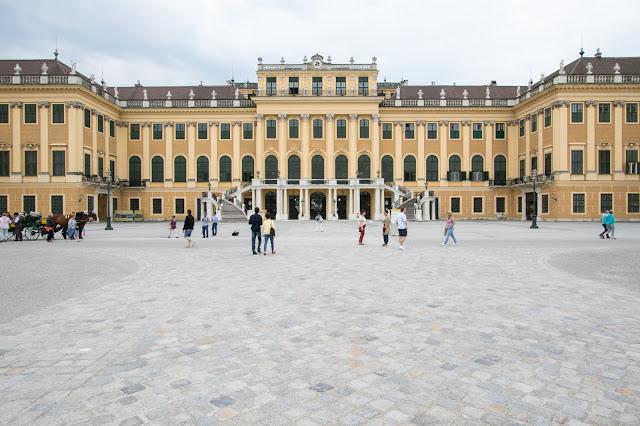 Il Palazzo-Castello di Schönbrunn-Vienna