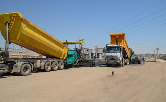Diyarbakır Büyükşehir Belediyesi yeni yol açma ve genişletme çalışmalarını sürdürüyor