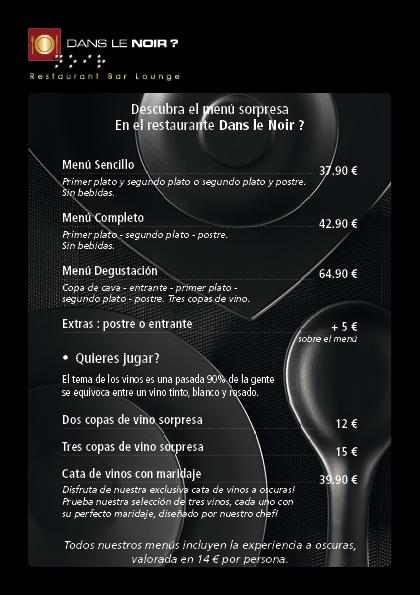 Carta Dans Le Noir? Madrid