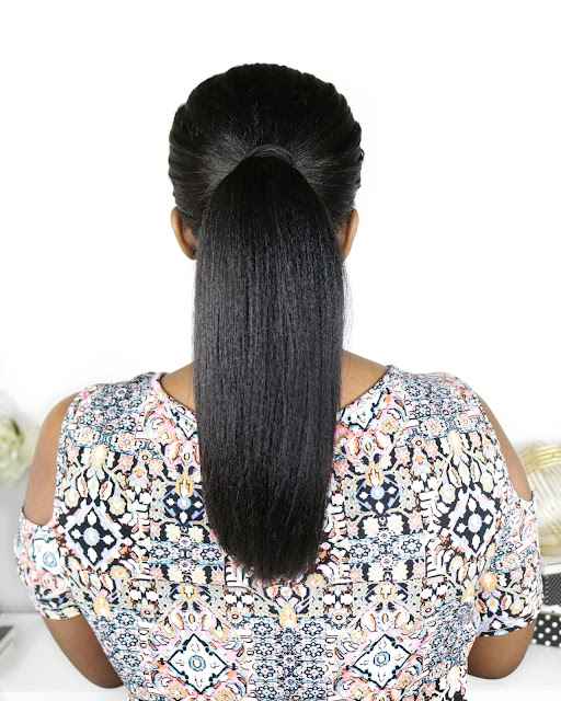 How I Maintain THICKness In My Relaxed Ponytail | www.HairliciousInc.com