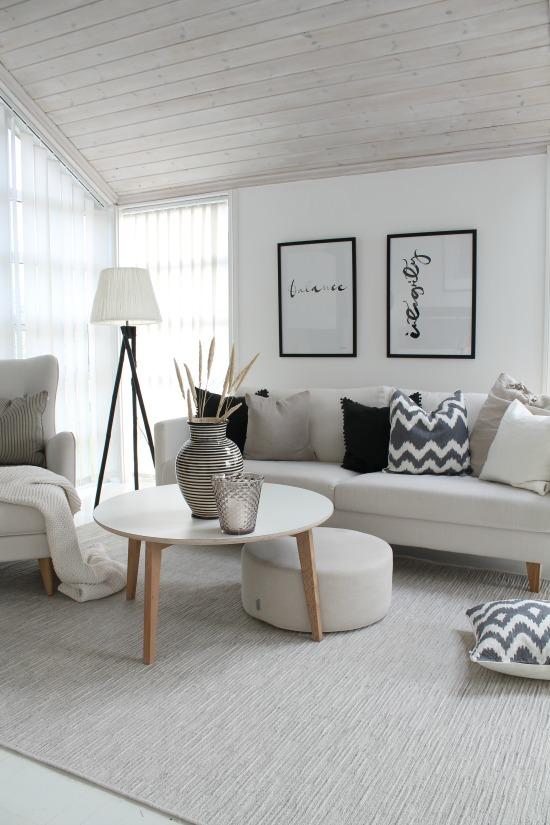 Summer Home Decor Ideas: living room