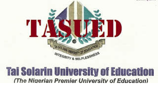 Apply: Tai Solarin University of Education 2020/2021 TASUED Part-Time Admission