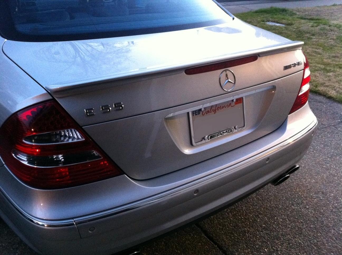 Mercedes E55 AMG: E55 AMG Mods & Upgrades