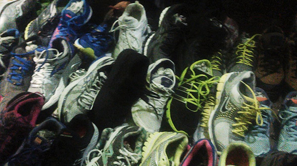 shoes at night market (Baguio)