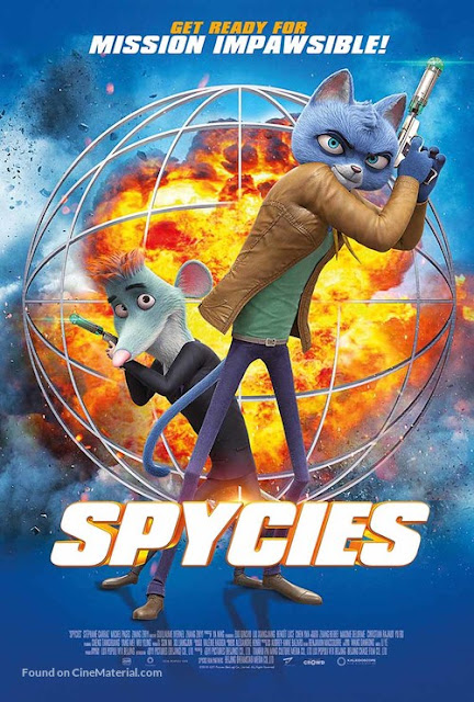 Spycies - British Movie Poster
