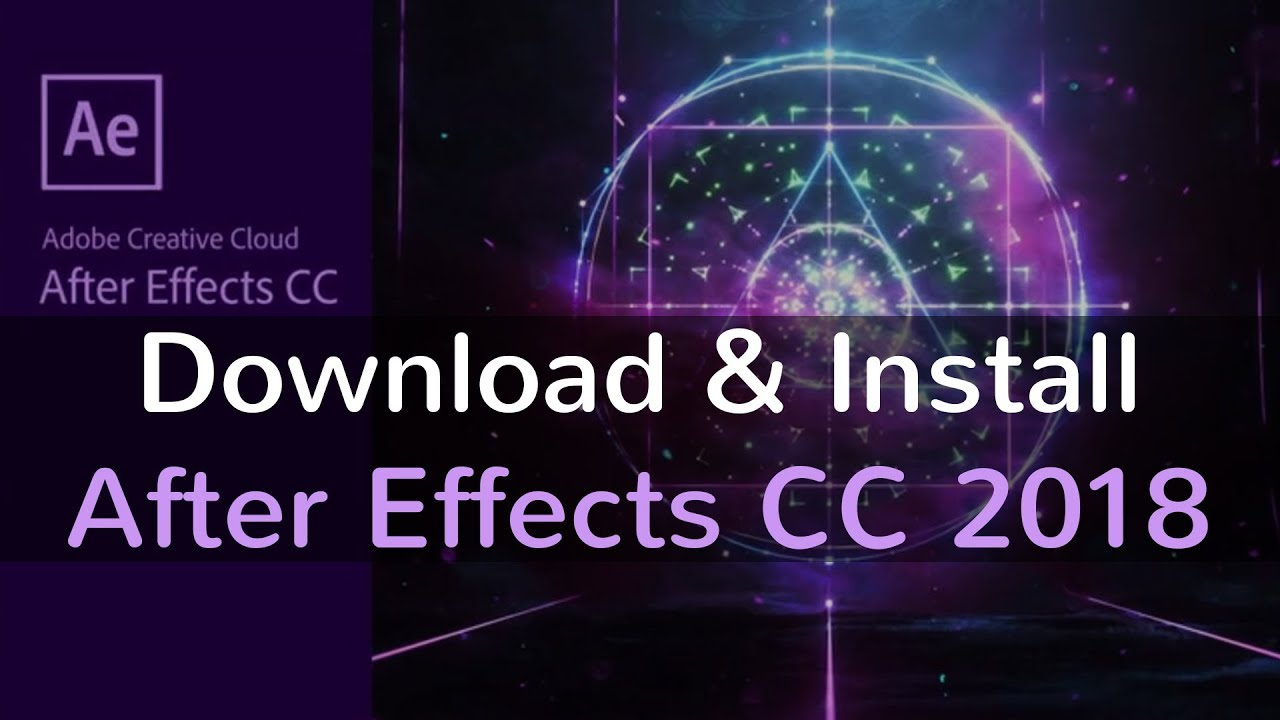 after effects cc 2018 free download with crack