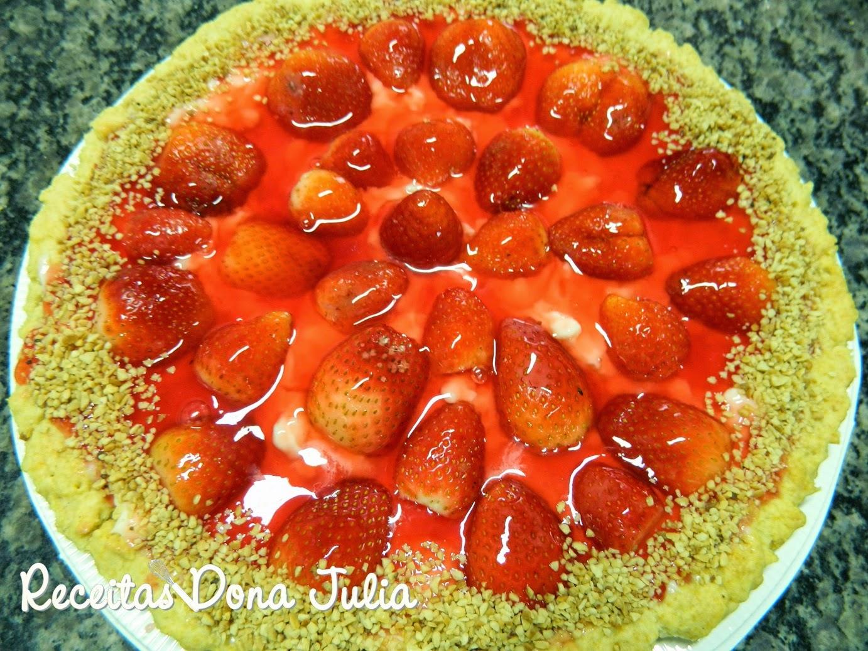"""""""Torta de Morango"""""""