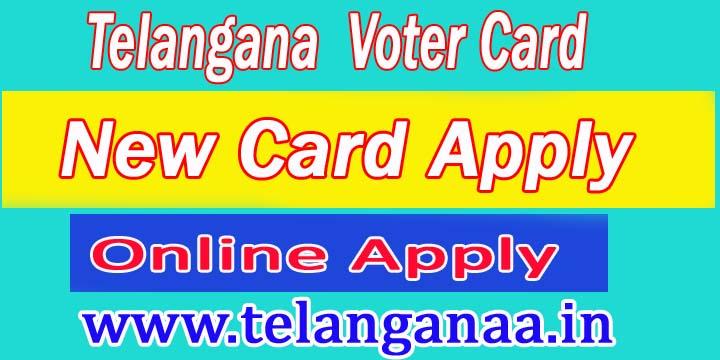 Telangana New Voter Apply Online | TS Voter ID Status | TS  Voter ID Online Correction | TS Voter ID Transfer