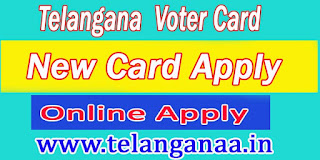 Telangana New Voter Apply Online | TS Voter ID Status | TS  Voter ID Online Correction | TS Voter ID Transfer