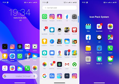 Full Preview Themes IOS Light UI