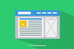 5 Cara Menghilangkan Sidebar di Blogger