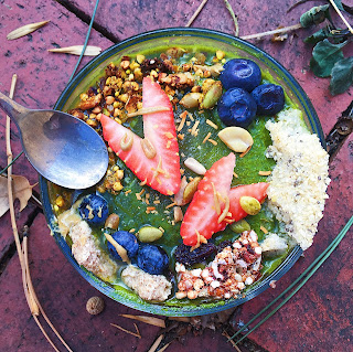 gluten free and vegan breakfast buddha bowl recipe