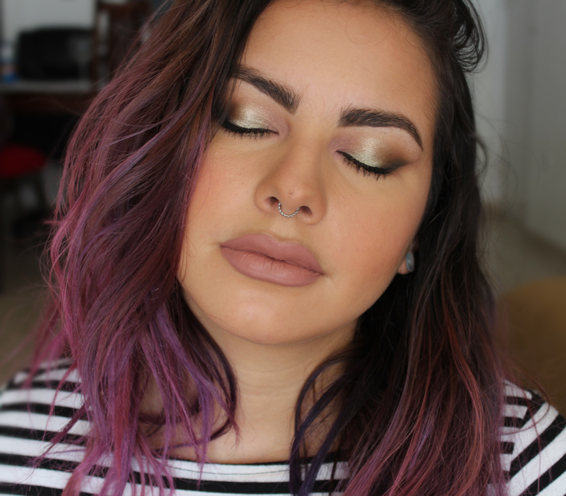 Too Faced Kat Von D Better Together Eye Collection Set Review Makeup Look Swatch