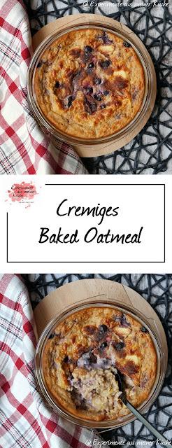 Cremiges Baked Oatmeal | Rezept | Frühstück | Haferflocken | Essen | Weight Watchers