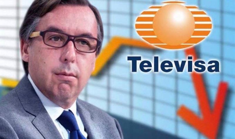 Ante programa anti-chayote de AMLO, Televisa recorta gastos y se coloca en peligro de quiebra