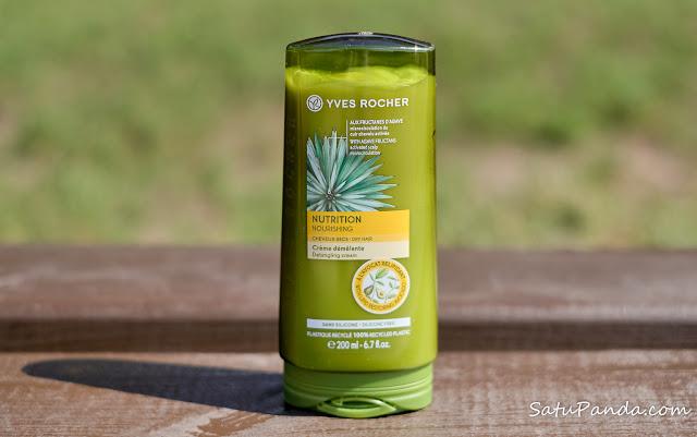 Yves Rocher Nutrition Бальзам-крем для волос Питание и Шелковистость
